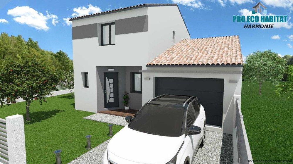 Prix Plan Maison Neuve Moderne Rt2012 Etage Harmonie