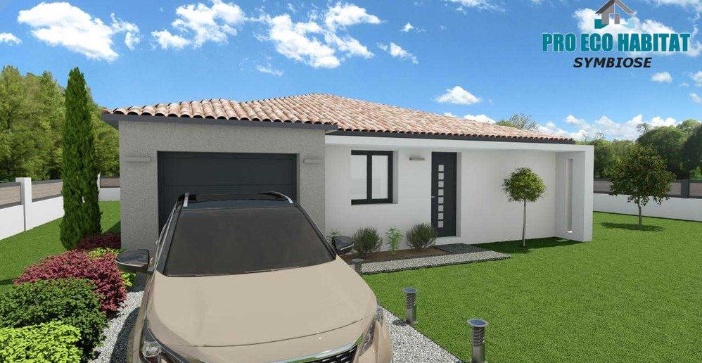 Prix Plan Maison Neuve Moderne Rt2012 Plain Pied Symbiose